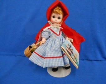 "Madam Alexander ""Little Red Riding Hood"" in original box  8'"