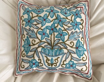 ONE left of each - Cushion covers - chain stitch