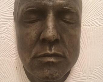 Marlon Brando life face cast