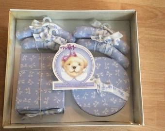 Muffy VanderBear MIB Closet Accessories Hatbox Shoechest 4 Hangers