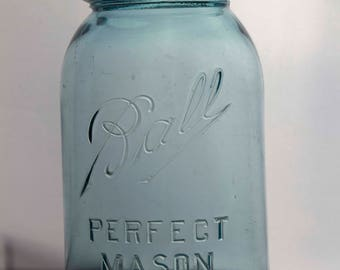 Quart Sized Perfect Mason Jar With Zinc Lid