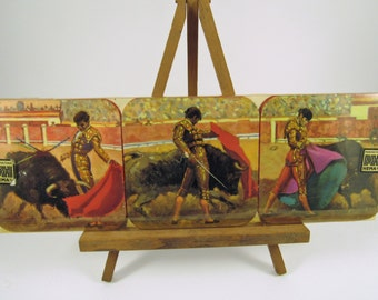 Vintage Coasters Bullfighter Matador HEMA Spain
