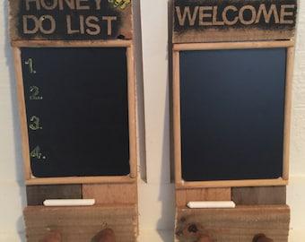 Chalk board  2 choices