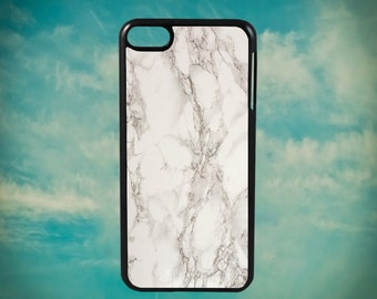White and Gray Marble Stone Texture for Apple iPod Touch 4th Generation, iPod 5th Generation and iPod 6th Generation iPod Case
