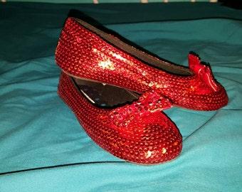 Children's Custom Replica Ruby Slippers