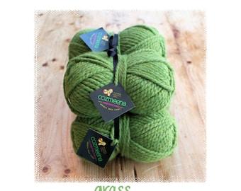 Cozmeena Shawl Kit ~ Grass