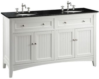 Marvelous Bathroom Vanity   Thomasville 60 Inch Double Sink Vanity CF47530