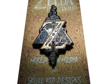 """Zelda Breath of the Wild 2"""" Enamel Pin"""