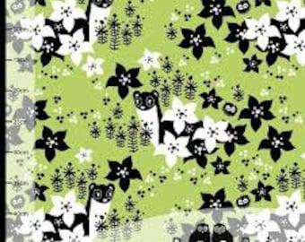 Paapii Vieno Lime Green Organic Cotton Jersey Knit