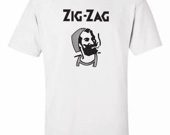 ZIG ZAG Men's Adult Tee Shirt  S-2XL