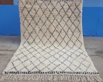 Spezifische Dimensionierung auf Beni ourain handmade Moroccan rug 100% wool