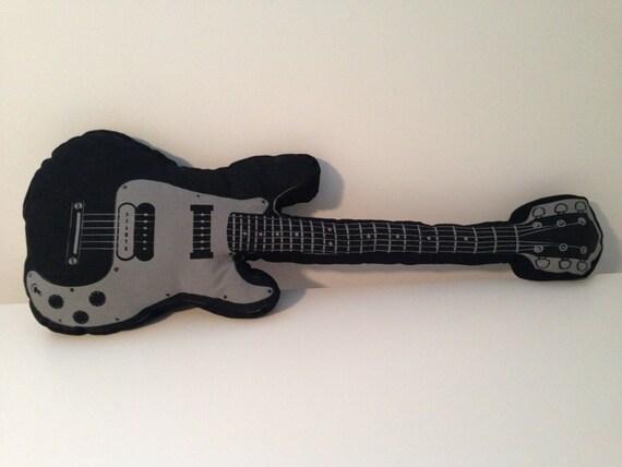 Guitar pillow