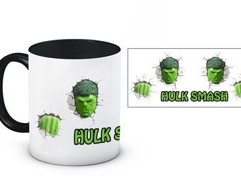 Hulk Smash Marvel 11oz Ceramic Mug