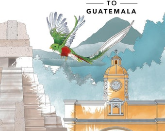 Giving Color to Guatemala - Coloring Book