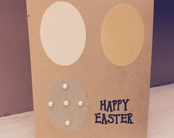Happy Easter card, Easter, handmade