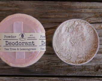 Natural Deodorant Powder