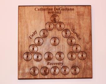 Addiction Recovery Celebration plaque