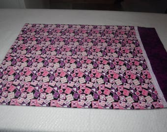 flannel pillowcase ,ready to ship pillowcase, heart pillowcase