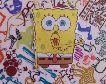 Spongebob Themed Stickers