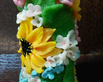 candles handmade ,candle flower,Candle gift,interesting gift,for home