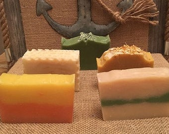 Set of Three - Your Choice - Handmade Soap - Homemade Soap - All Natural