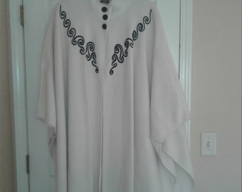 One size fits most poncho ~ Ships FAST & FREE!