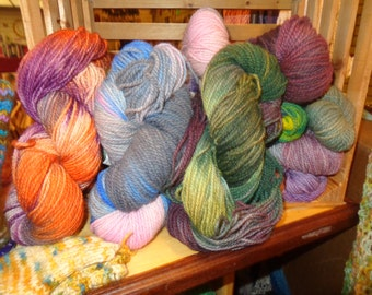 Shelia's one of a Kind wool yarn