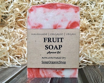 Scented soap Fruit soap Fragrance oil soap Women soap Artisan soap Natural skin care Hand Crafted soap Facial cleanser Bath soap Vegan soap
