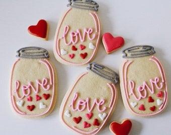 Love in a Jar Cookies