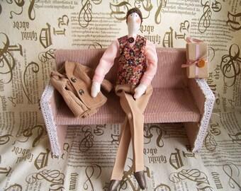 Handmade Tilda doll