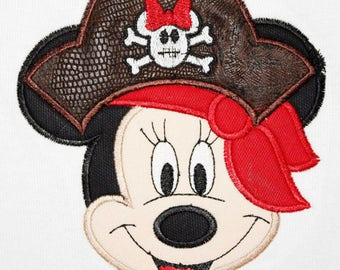 Pirate Minnie Mouse Shirt