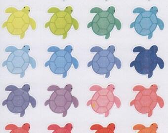 Turtles | 726 | Planner Sticker | Kikki-K | Happy Planner | Erin Condren
