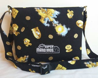 Super Mario Brothers Crossbody/ Shoulder bag