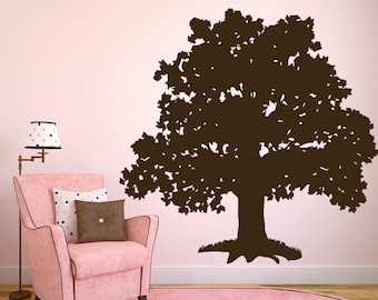 Wall Decal Sticker Bedroom big tree braches forest beauniful room decor 253b