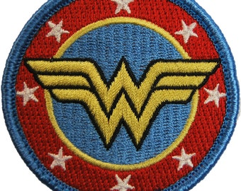 Womder Woman embroidered morale patch