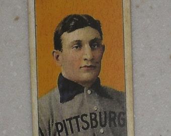 1909/10 T206 Honus Wagner Ty Cobb King Of Smoking Back