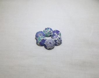 Liberty of London fabric buttons