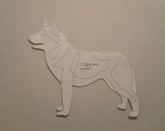 Personalised Siberian Husky Pattern