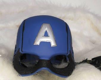 Captain America Helmet Cosplay Mask