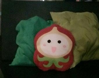 Handmade Fantasy Pachimari Pillow, Eco Friendly Plush, Personalization available