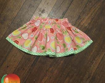 Sweet Apple Twirly Skirt ~ Size 3