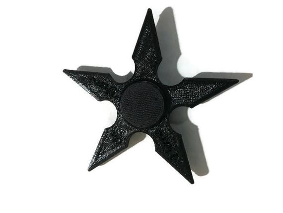Ninja star fidget spinner