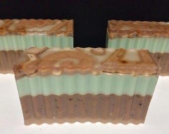 Chocolate Mint Bar Soap
