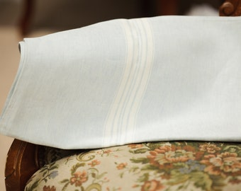 Linen kitchen tea towel / Light blue