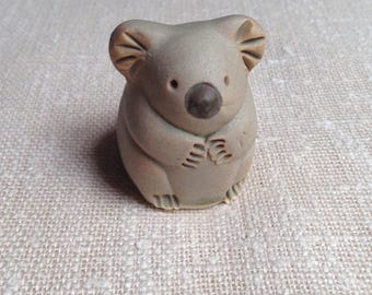Vintage koala figurine by Billabong / Australian pottery