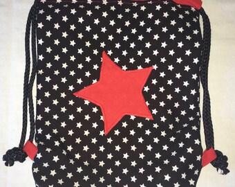 Backpack bag gym bag Star points