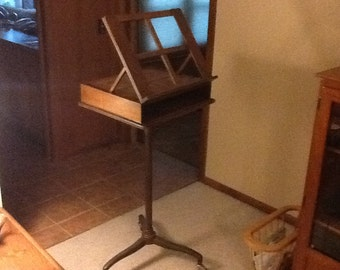 Antique Adjustable Music Stand
