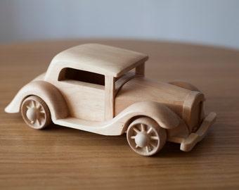 Wooden Car - Unique Design Inspired 1932 - Eco-Friendly