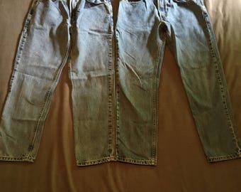Levis 512 slim fit jeans vintage levis size 33 x 30 last pair
