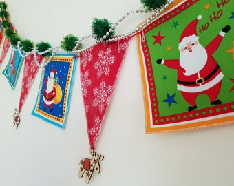 Restringable Christmas Bunting